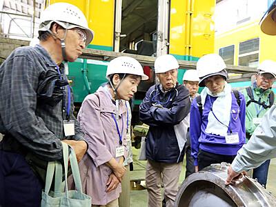 鉄道の安全運行学ぶ 富山で県民生涯学習カレッジ