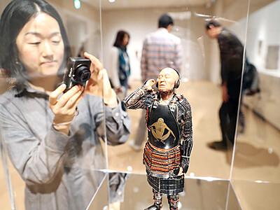侍題材に現代アート展 富山・秋水美術館で野口さん