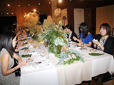 富山の食で地域盛り上げ 魚津の閉校の校舎で一夜限りのレストラン