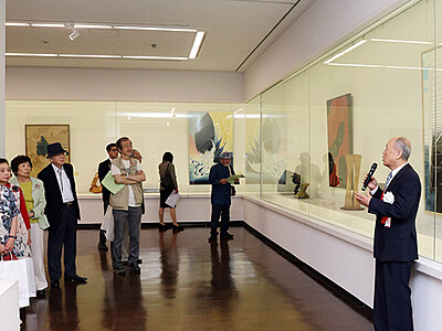 素材生かした秀作並ぶ 現代工芸美術家協会富山会展