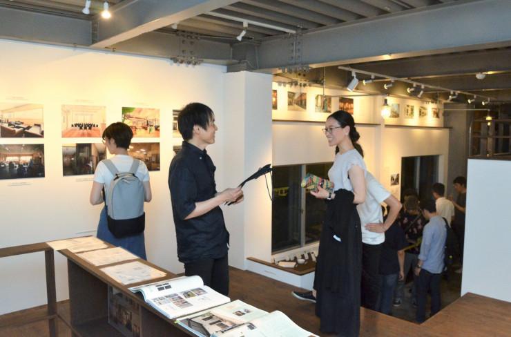 長野市の新小路沿いのリノベーションをテーマにした展覧会