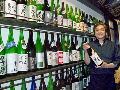 県内全酒蔵の味集結 新潟の飲食店 純米酒88銘柄提供