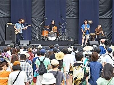 音楽最高潮、福井沸かす 「ワンパークフェス」最終日