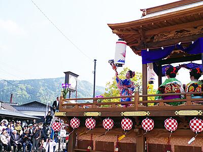 井波5屋体 勢ぞろい 来月イベント「令和元年夏の陣」