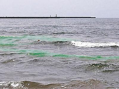 離岸流を調査 内灘で秒速30センチ確認