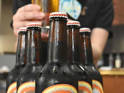 中アの湧き水で宮田の地ビール 「きれいで素直な仕上がり」
