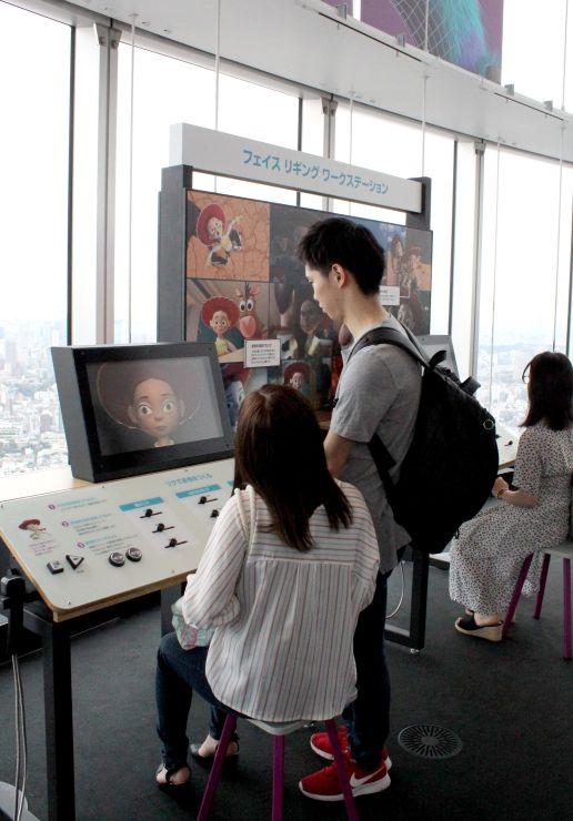 人気映画のアニメーション技術を学べる「PIXARのひみつ展」=東京・六本木