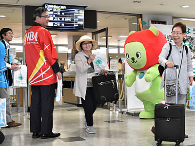 松本―札幌丘珠、夏季限定の運航開始 FDA、75日間に延長