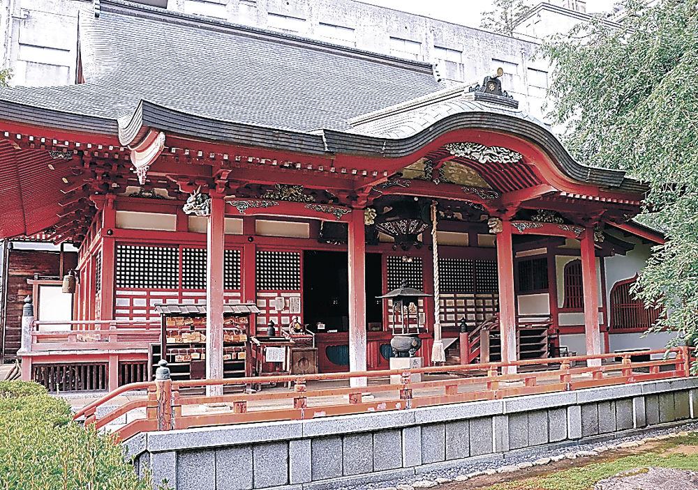 「令和 山代八景」に選ばれた薬王院温泉寺=加賀市山代温泉