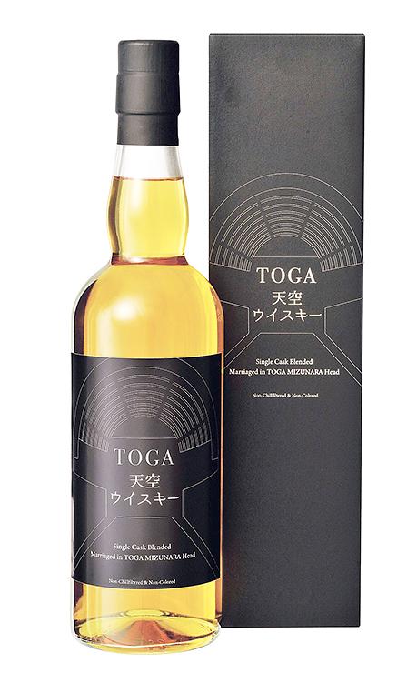 国際演劇祭を記念して発売される「TOGA天空ウイスキー」