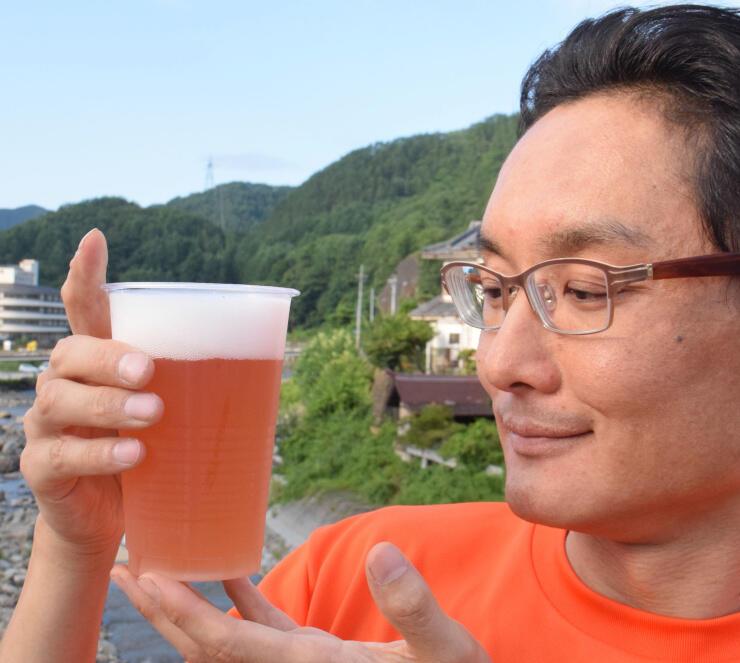 小海町の住民有志が共同企画したクラフトビール「7pm」