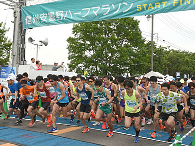 安曇野ハーフマラソン 20年は6月7日開催