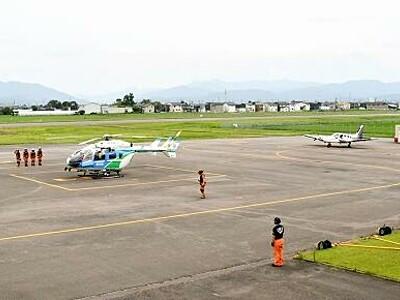 福井空港で9月スカイフェス 軽飛行機、ヘリ遊覧