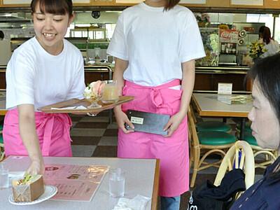 志賀高原で学生カフェ「もものうち」開業 18日まで