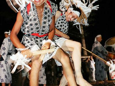 力強く「ヤートーセ」 阿南で「和合の念仏踊り」始まる