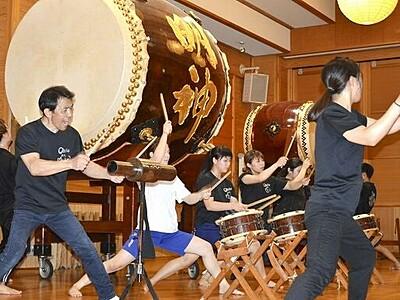 O・TA・I・KO響2019、福井県越前町で8月17日開催 和太鼓の祭典