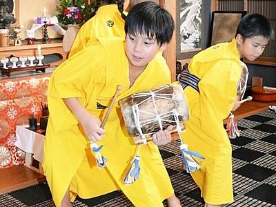 300年以上の伝統、六斎念仏で先祖供養 福井県若狭地方