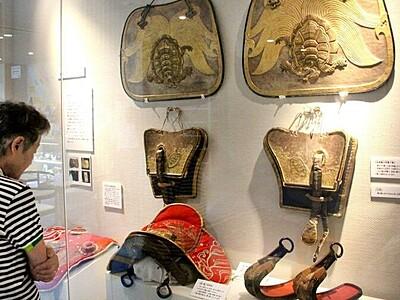 敦賀まつり合わせ山車装具展示 江戸後期から明治初期使用
