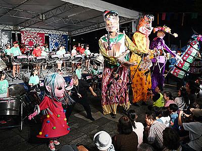 世界の音楽、多彩に 福野で「スキヤキ」開幕