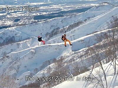 白銀がいざなう新潟 県、7言語で動画制作