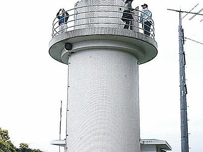七尾・観音崎灯台が「恋する灯台」に ロマンチスト協会が聖地認定