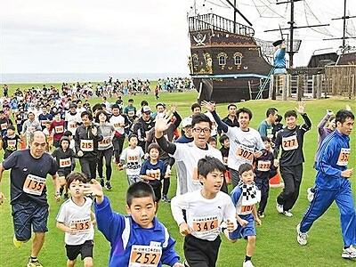 芝政で「坂井しおかぜクロカンマラソン」10月20日号砲 福井県