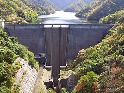 赤岩ダム内部初公開 10月6日 柏崎で見学ツアー