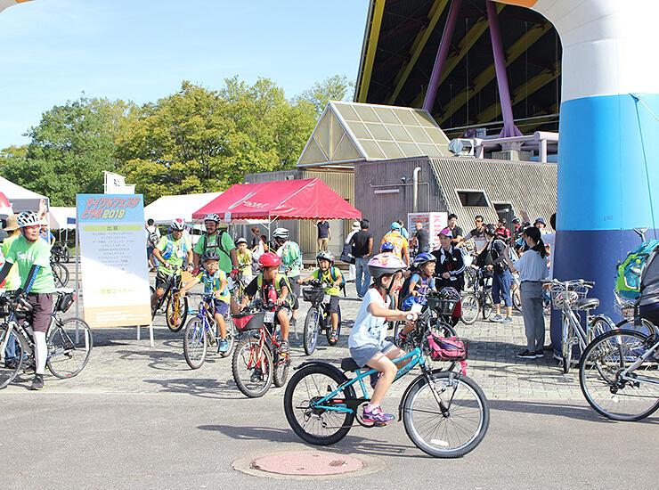 自転車を楽しむ多彩な催しが繰り広げられた「サイクルフェスタとやま」