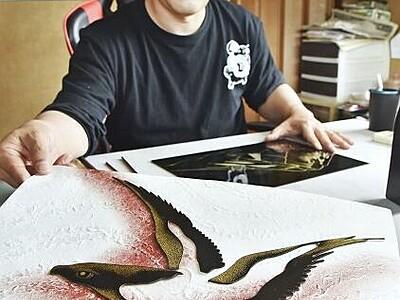 漆芸と越前和紙のコラボ 21日から 福井・鯖江