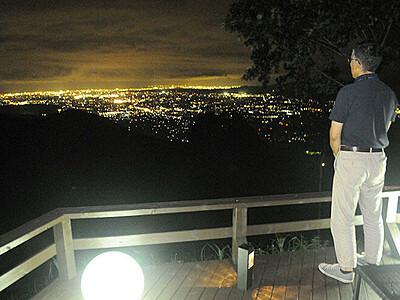名月・夜景楽しんで イオックス、初のナイトゴンドラ