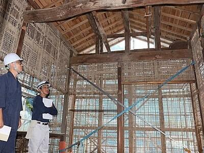 福井の大安禅寺、本堂を特別公開 9月29日、建物「履歴」も解説