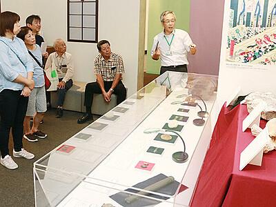 資源開発の歴史紹介 立山博物館、貴重な鉱物標本展示