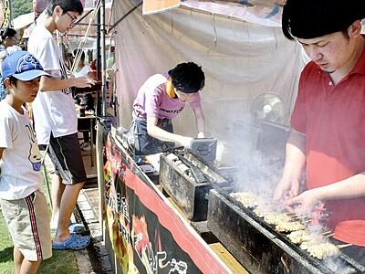 福井の焼き鳥名店が集合 鯖江で祭り