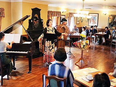 家持の歌の世界観表現 高岡でコンサート