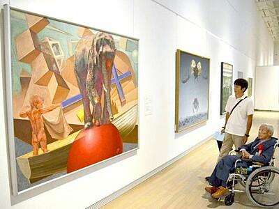 新潟の技と美一堂に 人間国宝ら74人作品展 新津美術館