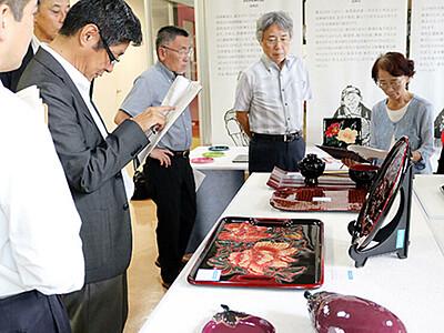 最高賞に高岡の山田さん 高岡漆器新作審査会