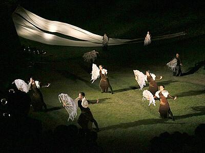 命と魂の物語に拍手 シアター・オリンピックス黒部会場最終公演
