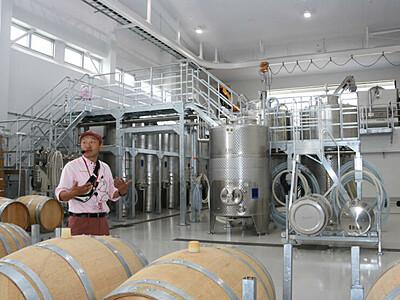 「椀子」で醸した夢、世界へ 上田市初のワイン醸造所開業