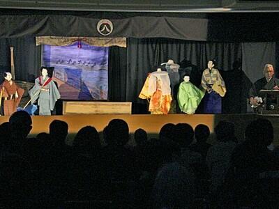 情感豊か涙誘う親子の愛 柏崎で人形浄瑠璃公演