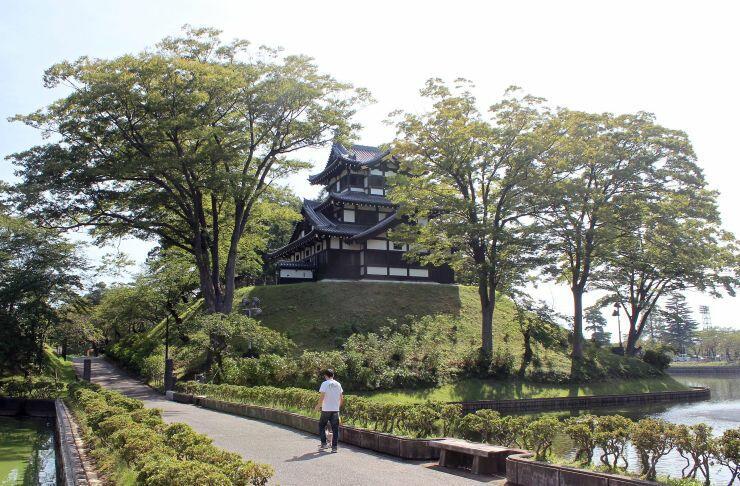 「高田城址公園」への名称変更が検討されている高田公園=1日、上越市