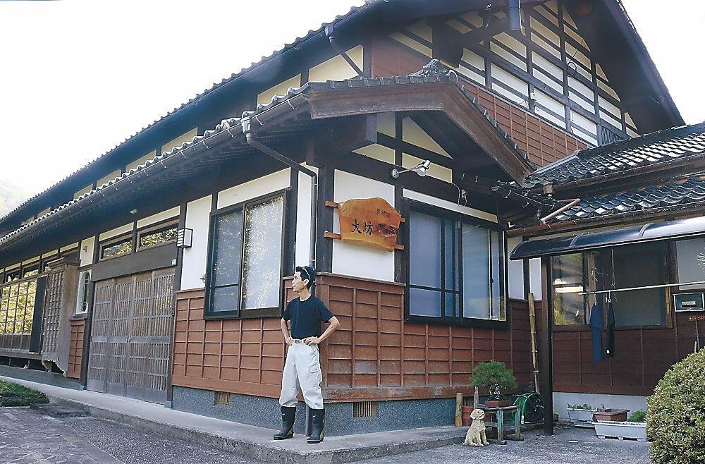 創作イタリアンを提供する農家民宿を開業した三ッ井さん=珠洲市若山町大坊