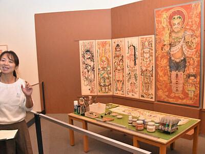 瀬川康男さんの生涯、感じて 安曇野ちひろ美術館で企画展