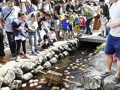 秋晴れ熊川宿、催し多彩 若狭町でPRイベント