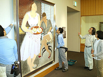 作品大幅入れ替え 「小倉遊亀と院展の画家たち展」後期展