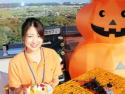眺望とケーキ楽しんで 太閤山ランド、13・14日「天空カフェ」