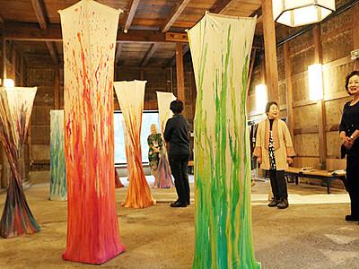 坂のまちが美術館 八尾で芸術イベント、酒蔵など35カ所
