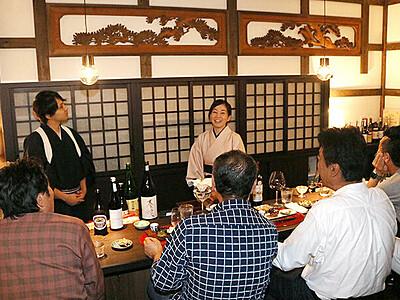 空き店舗、飲んで一泊 宿&日本酒バーに改装