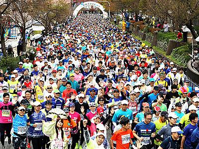 首都圏ランナー代替手段で必ず 27日の富山マラソン、実行委は受付時間を延長