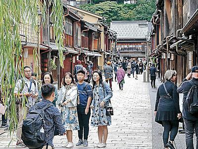 魅力度ランキング石川9位 過去最高タイ 市区町村別で金沢8位