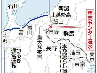 北陸新幹線ダイヤ、復旧は越年か